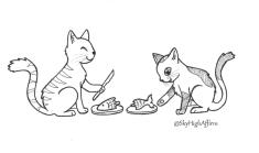 inktober_sharingcats