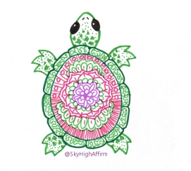 inktober_turtle